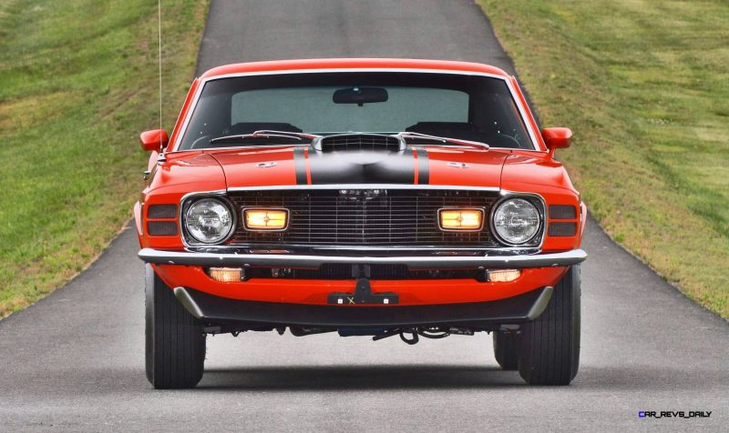 Mecum Harrisburg 2015 114_1970 Ford Mustang Mach 1 Fastback 6