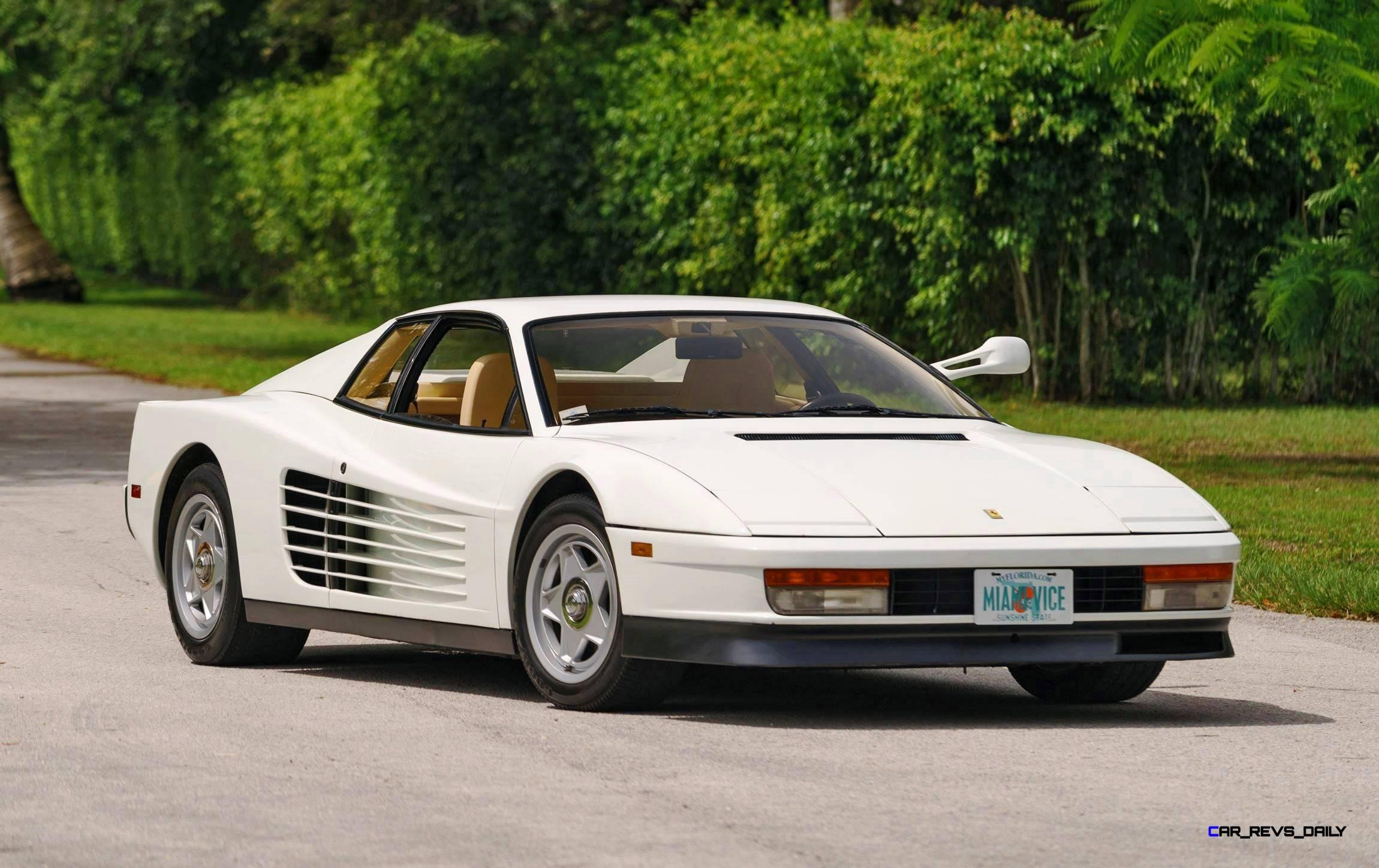 Used Car Auctions >> Mecum Miami Vice Testarossa