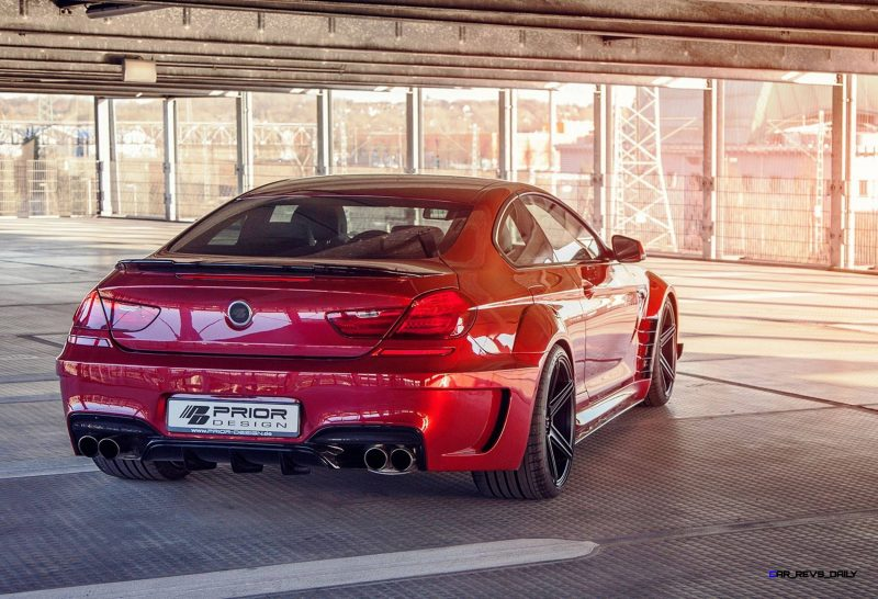 PRIOR-DESIGN PD6XX Widebody BMW 650i and M6 13