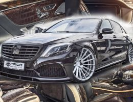 PRIOR DESIGN Makes MB S-Class Into Cold-Blooded Apex Predator Inside and Out