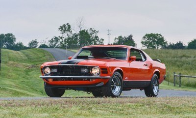 S114_1970 Ford Mustang Mach 1 Fastback Calypso Coral 1