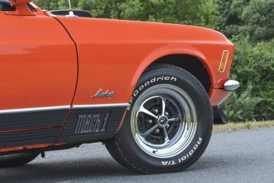 S114_1970 Ford Mustang Mach 1 Fastback Calypso Coral 12