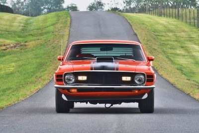 S114_1970 Ford Mustang Mach 1 Fastback Calypso Coral 13