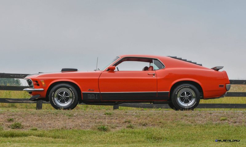 S114_1970 Ford Mustang Mach 1 Fastback Calypso Coral 17