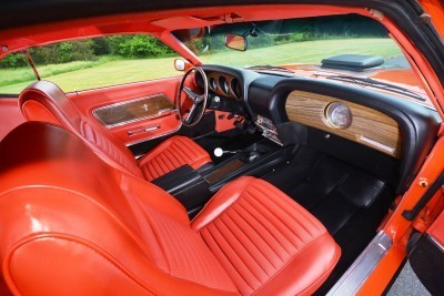 S114_1970 Ford Mustang Mach 1 Fastback Calypso Coral 20