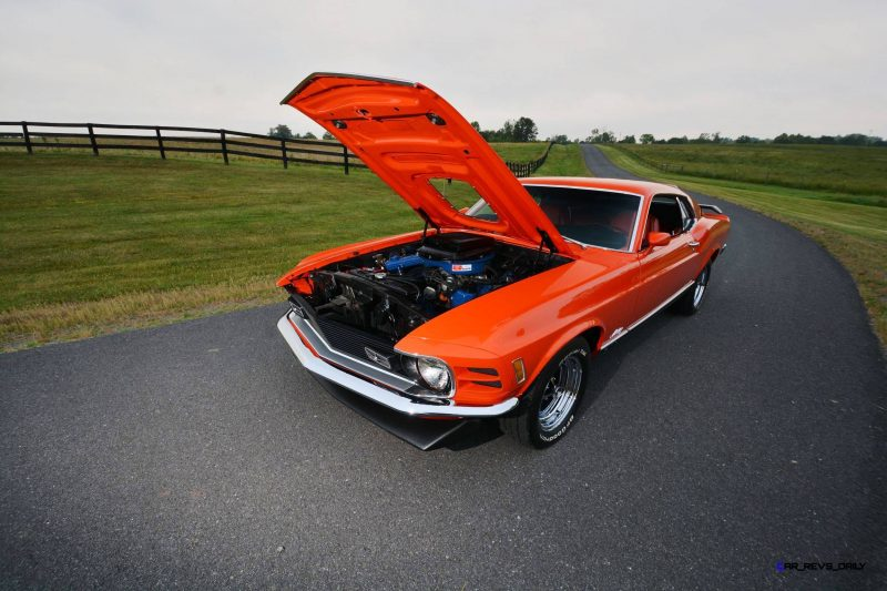 S114_1970 Ford Mustang Mach 1 Fastback Calypso Coral 6