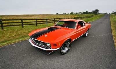 S114_1970 Ford Mustang Mach 1 Fastback Calypso Coral 9