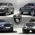 ARES Modena Renders 4-Pack of 2019 Megabuck SUVS: RR Ghost II, Mulsanne and Spur SUV + G63 Vision