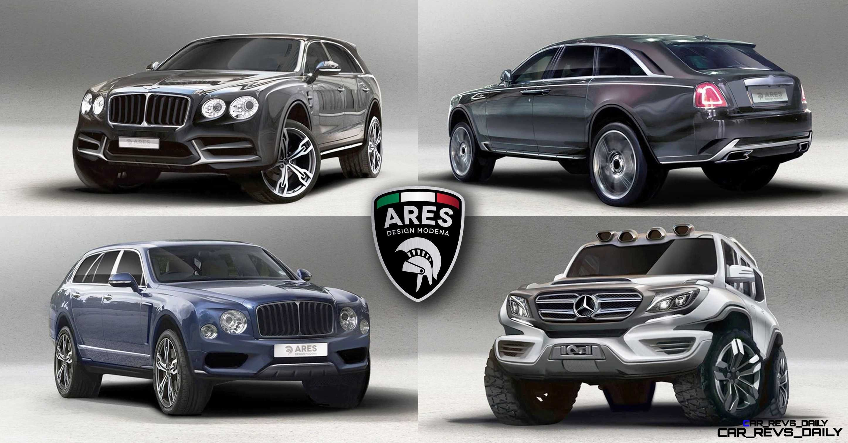 Ares Modena Renders 4 Pack Of 2019 Megabuck Suvs Rr Ghost