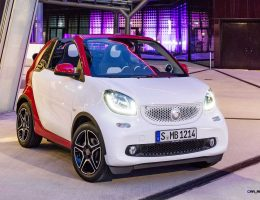 2017 Smart ForTwo Cabrio Revealed Ahead of US Arrival In Summer 2016