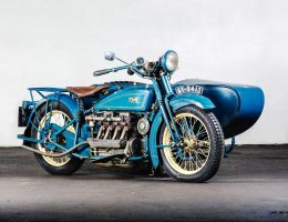 RM Hershey 2015 Preview – 1925 Henderson De Luxe with Goulding Sidecar