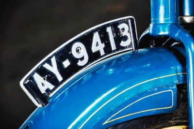 1925 Henderson De Luxe with Goulding Sidecar 11