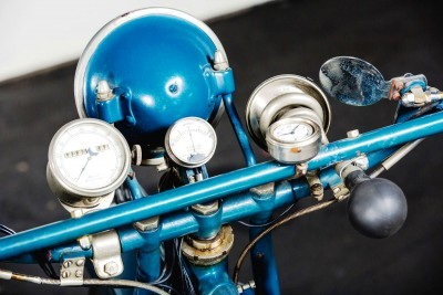 1925 Henderson De Luxe with Goulding Sidecar 12