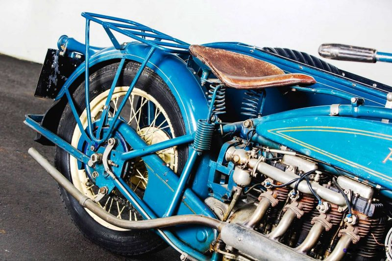 1925 Henderson De Luxe with Goulding Sidecar 14