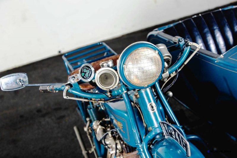 1925 Henderson De Luxe with Goulding Sidecar 16