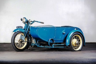 1925 Henderson De Luxe with Goulding Sidecar 19