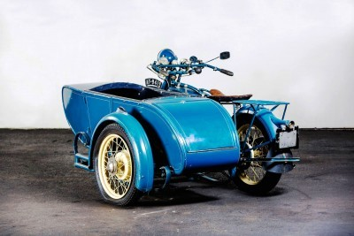 1925 Henderson De Luxe with Goulding Sidecar 2