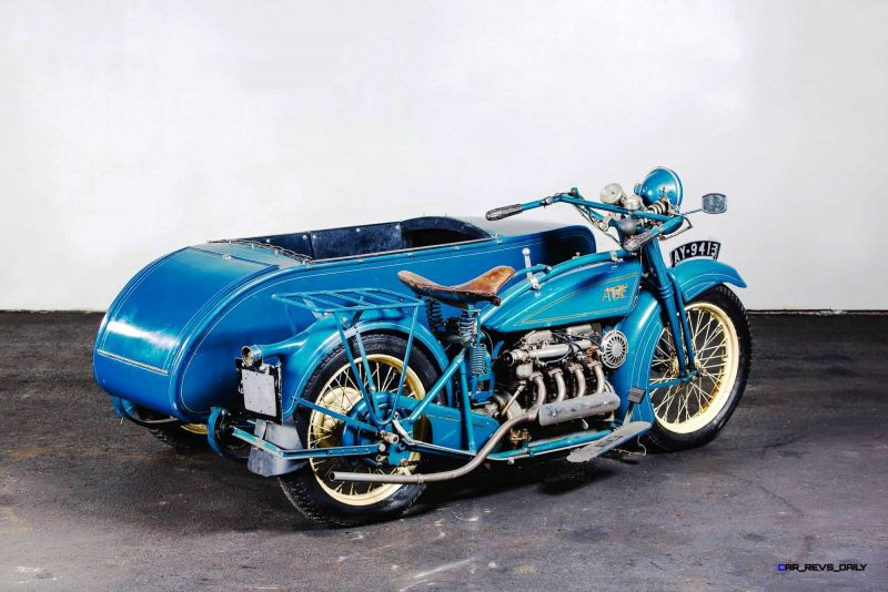 1925 Henderson De Luxe with Goulding Sidecar 20