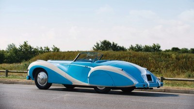 1948 Talbot-Lago T26 Grand Sport Cabriolet 2