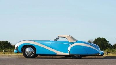 1948 Talbot-Lago T26 Grand Sport Cabriolet 5