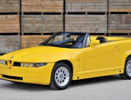 RM London 2015 – 1993 Alfa Romeo RZ by Zagato is Foxy/Boxy Icon
