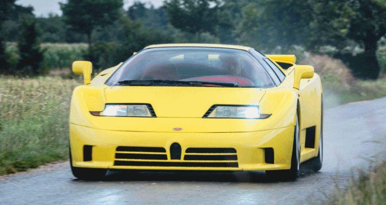 1995 Bugatti EB110SS 1