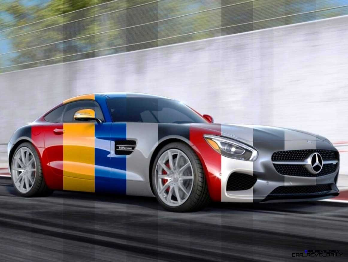 2015 Mercedes Amg Gt S Colors