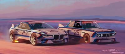 2015 BMW 3.0 CSL Homage R Concept 1