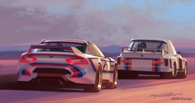 2015 BMW 3.0 CSL Homage R Concept 5