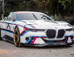 Update1 – 2015 BMW 3.0 CSL Hommage R Concept Makes Race-Ready Debut at Pebble Beach