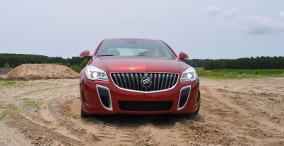 2015 Buick Regal GS AWD 36