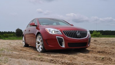2015 Buick Regal GS AWD 40