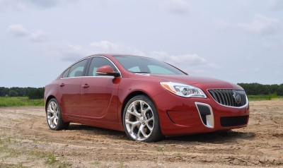 2015 Buick Regal GS AWD 41
