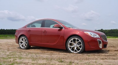2015 Buick Regal GS AWD 42