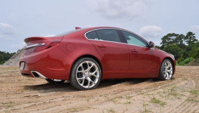 2015 Buick Regal GS AWD 43