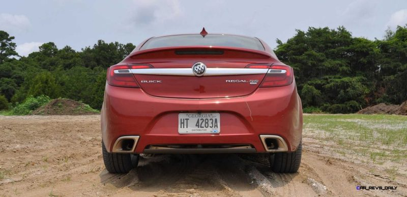 2015 Buick Regal GS AWD 45