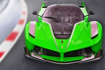 2015 Ferrari FXX K – Rendered COLORS Visualizer in 88 Shades