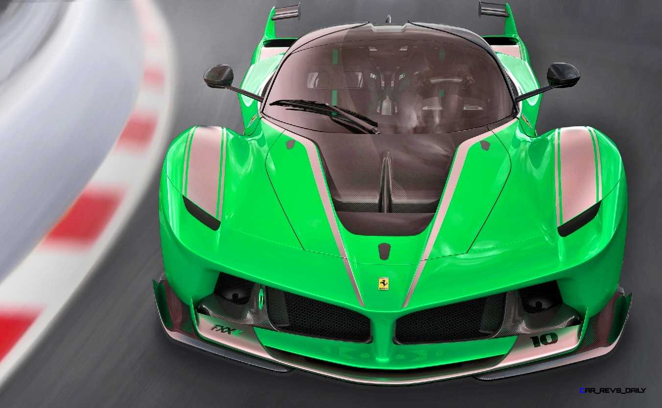 2015 Ferrari FXX K Rendered COLORS Visualizer 3