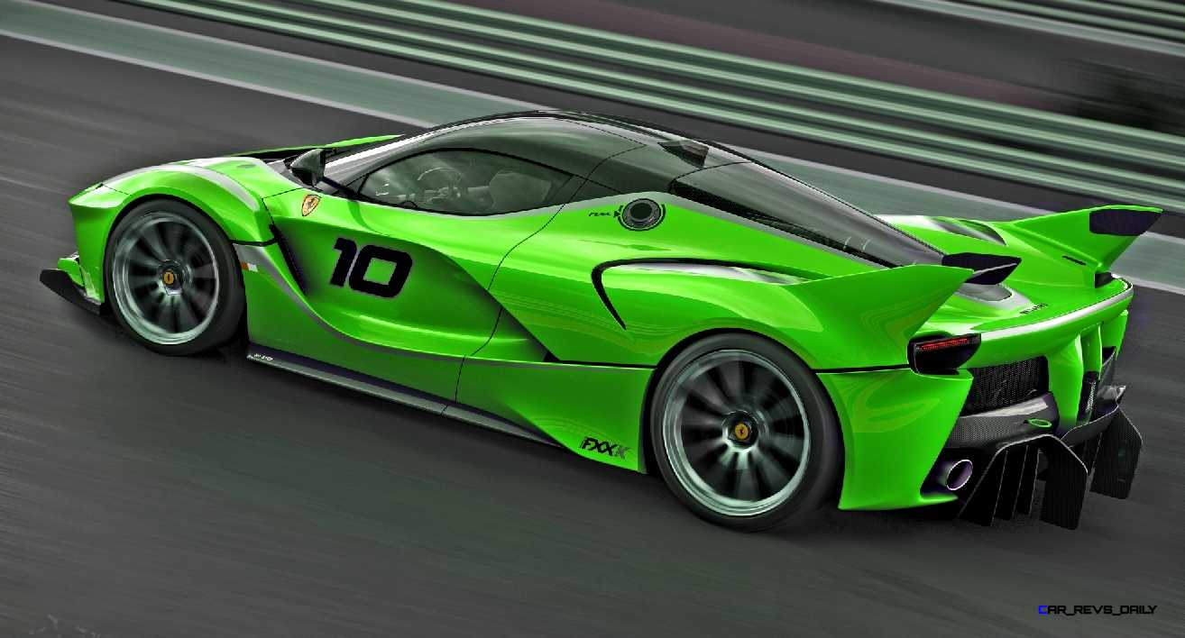 2015 Ferrari Fxx K Colors