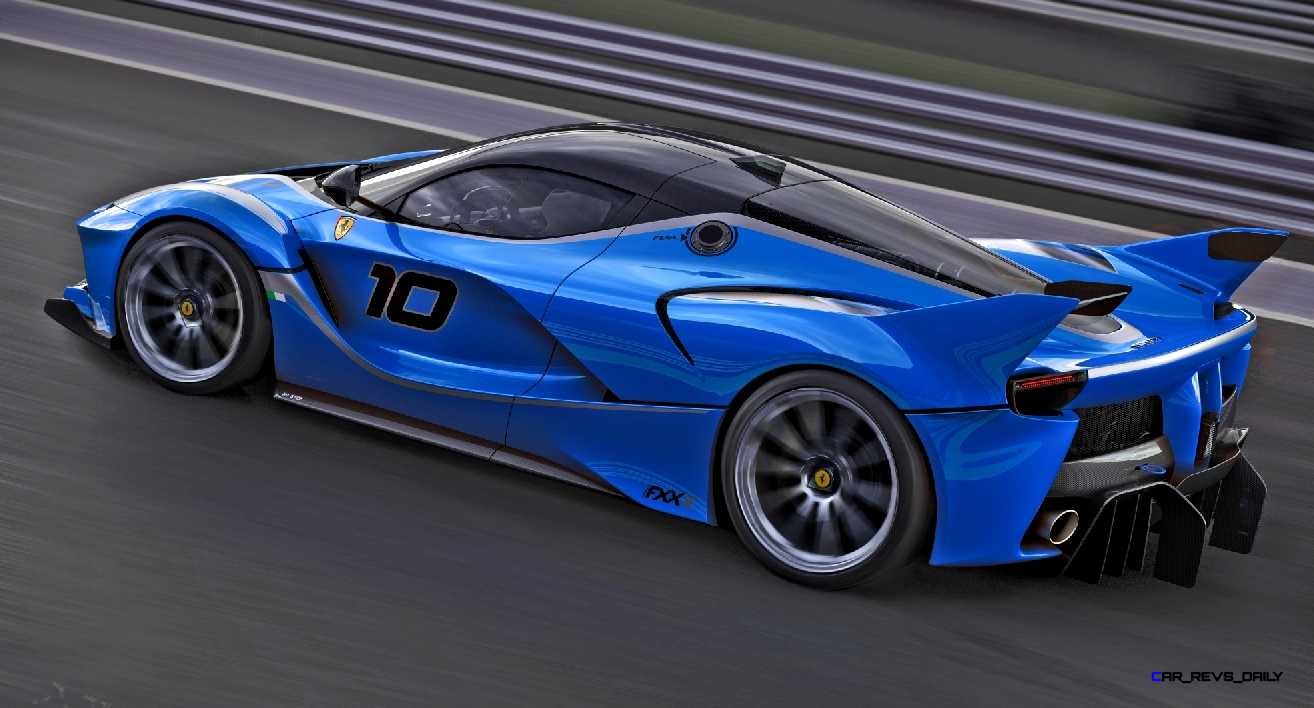 2015 Ferrari Fxx K Colors