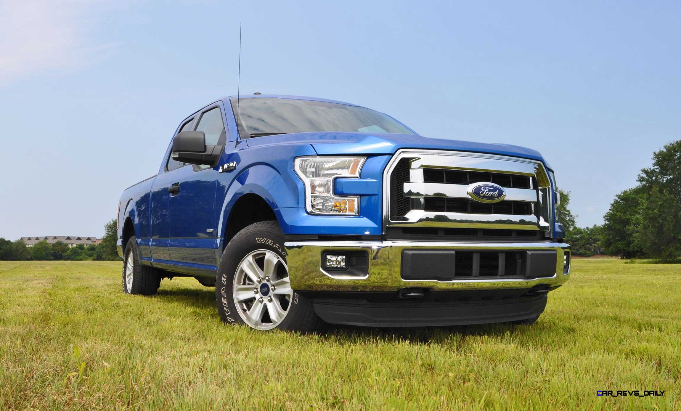 2015 Ford F 150 Xlt Review Blue Moving Into The Profile 150s Best Details Start To Charm Your Eyes And Mind Front Fender Is Fantastic We Especially Love Beveled Edge