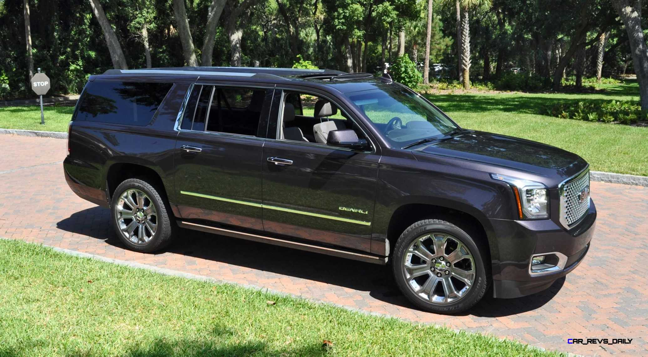 hd road test review 2015 gmc yukon denali xl 4 4 with new 8 speed. Black Bedroom Furniture Sets. Home Design Ideas