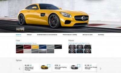 2015 Mercedes-AMG GT S - Exterior Styling Packages 1