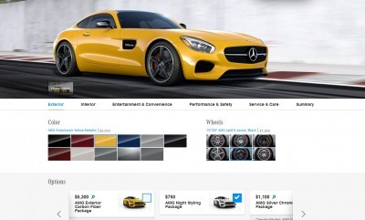 2015 Mercedes-AMG GT S - Exterior Styling Packages 2