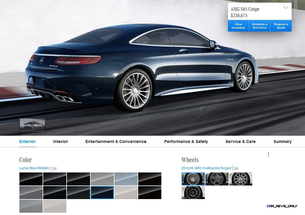 2015 mercedes benz s65 amg coupe colors 10 for Mercedes benz color