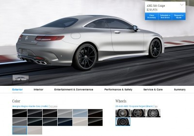 2015 Mercedes-Benz S65 AMG Coupe WHEELS 5