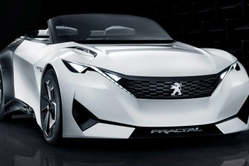 2015 Peugeot FRACTAL Concept - Modular Cabrio Previews 2017 209 and RC-Z Replacement