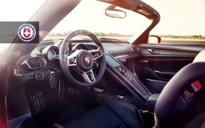 2015 Porsche 918 Spyder on HRE P101 4