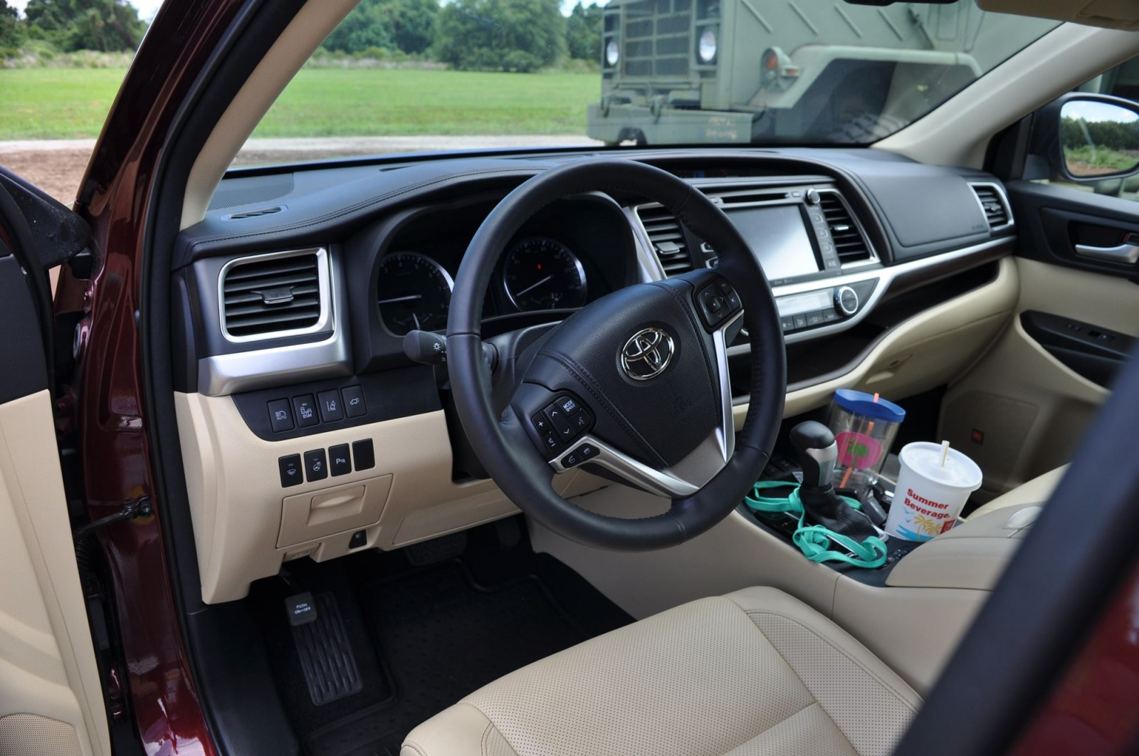 2015 Toyota Highlander Awd Limited Interior Photos 2
