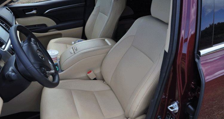 2015 Toyota Highlander AWD Limited Interior